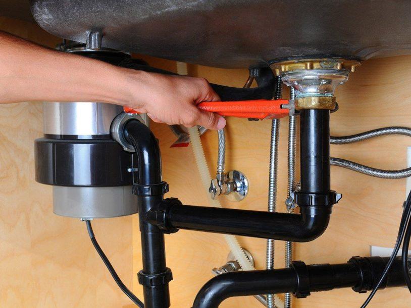 Faucet Drain Piping Repair