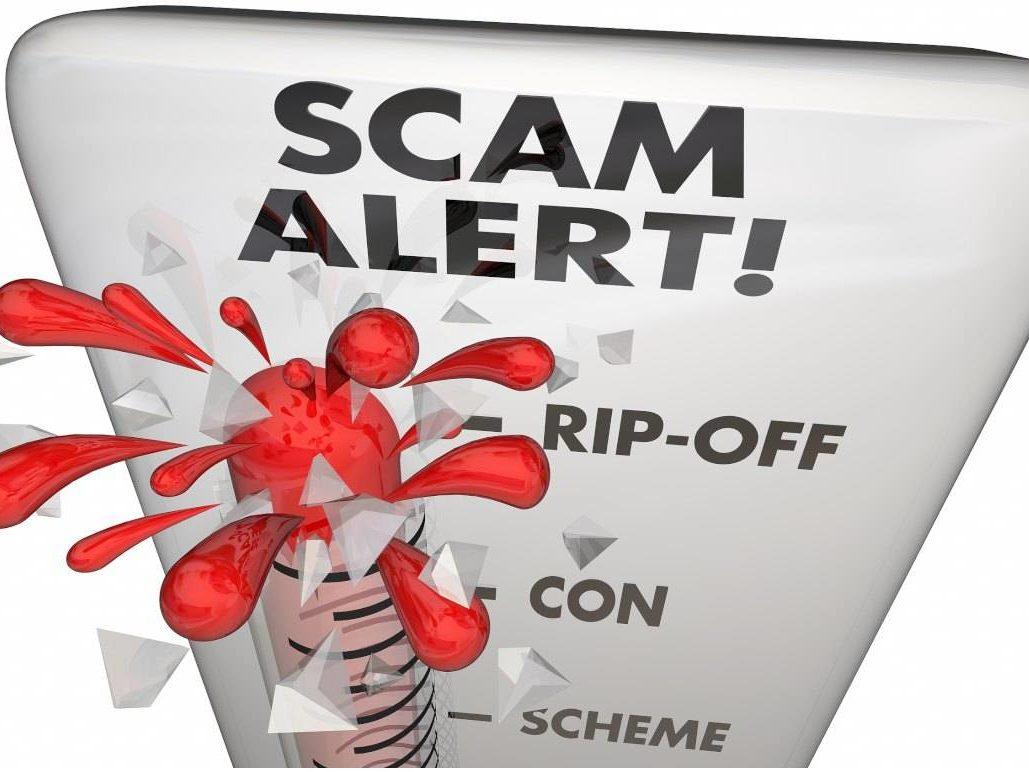 Scam Alert Scheme Ripoff