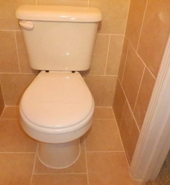 Bathroom Toilet Renovation Afterward