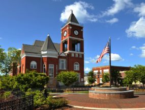 Dallas GA Paulding County Courthouse
