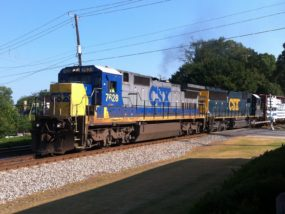 Train Running Through Kennesaw