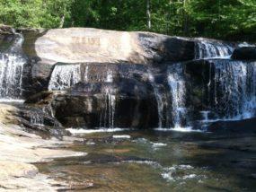 Brook Water Fall In Woodstock