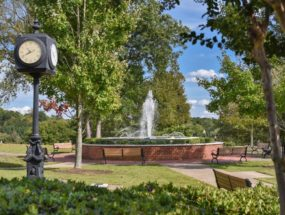 Woodstock Park Fountain