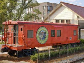 Historic Woodstock Train Depot