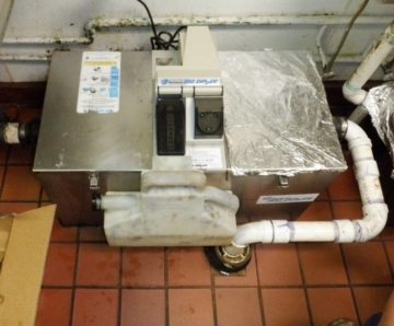 GreaseTrap in a restaurant