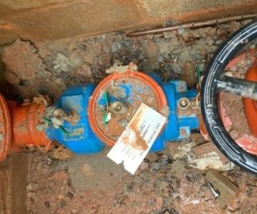 Commercial backflow preventor valve